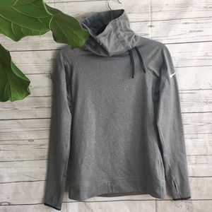 Nike Pro Dri-fit cowl neck pull over size M